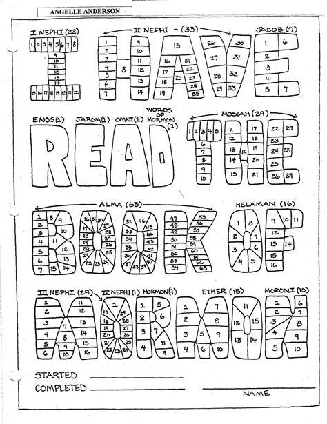Permalink to Bookofmormonreadingchart