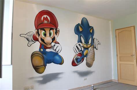 theme pour chambre ado fille déco chambres enfants graffiti