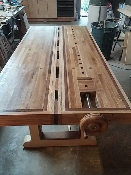 roubo split top bench woodworking projects