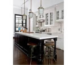 black island kitchen black and white kitchen inspiration blue dish