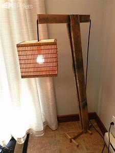 pallet floor lamp o 1001 pallets With pallet wood floor lamp