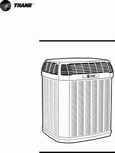 Trane Air Conditioner 2ttz9 User Guide