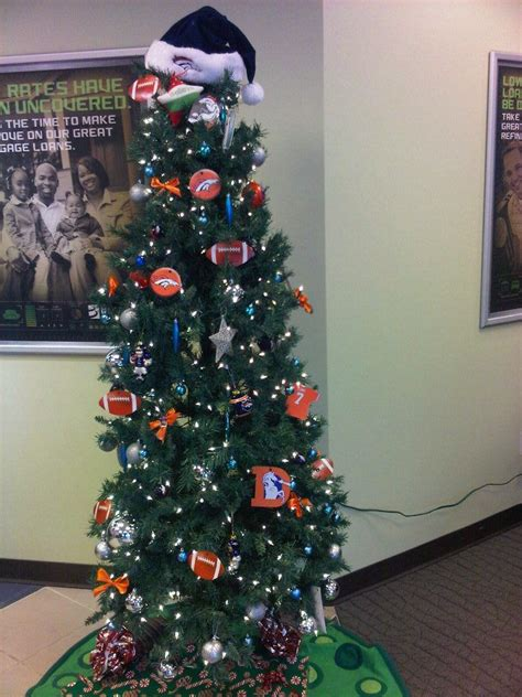 broncos christmas tree decorations dtc branch
