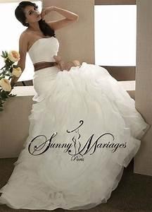 Robe De Mariee Sirene : robe de mariee sirene noir et blanc sunny mariage ~ Melissatoandfro.com Idées de Décoration