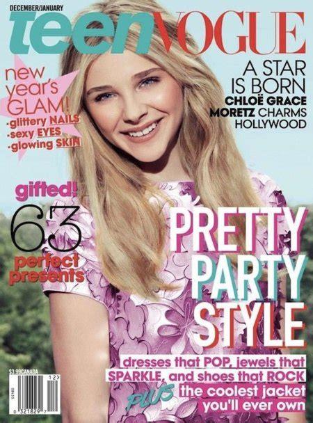Chloë Moretz, catorce añitos y portada de Teen Vogue