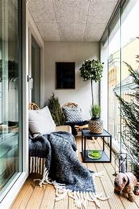 Veranda d39appartement ambiance cocooning idees for Charming decoration pour jardin exterieur 0 decoration salon pour petit appartement
