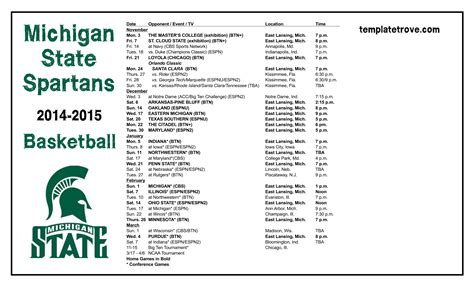msu football schedule  wallpaper wallpapersafari