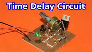 Power Off Delay Timer Circuit