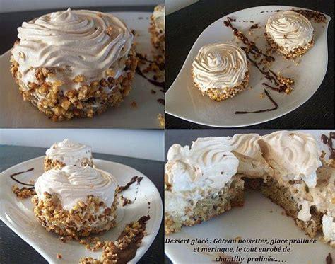 dessert glac 233 g 226 teau noisettes glace pralin 233 e et meringue paperblog