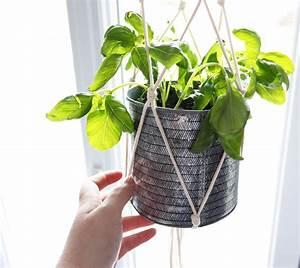 Suspension Pour Plante : diy suspension plant hanger shylylovely ~ Premium-room.com Idées de Décoration