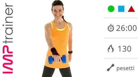 esercizi interno braccia esercizi per tonificare e snellire le braccia allenamento