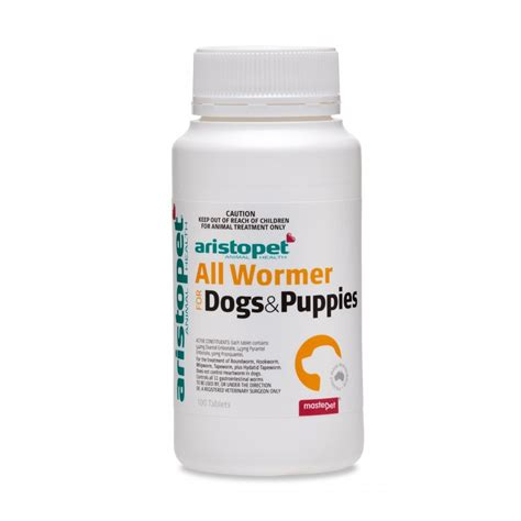 worming tablets  puppies aristopet  wormer tablets