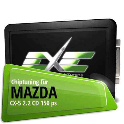 Chiptuning Mazda CX5 22 CD 150 ps
