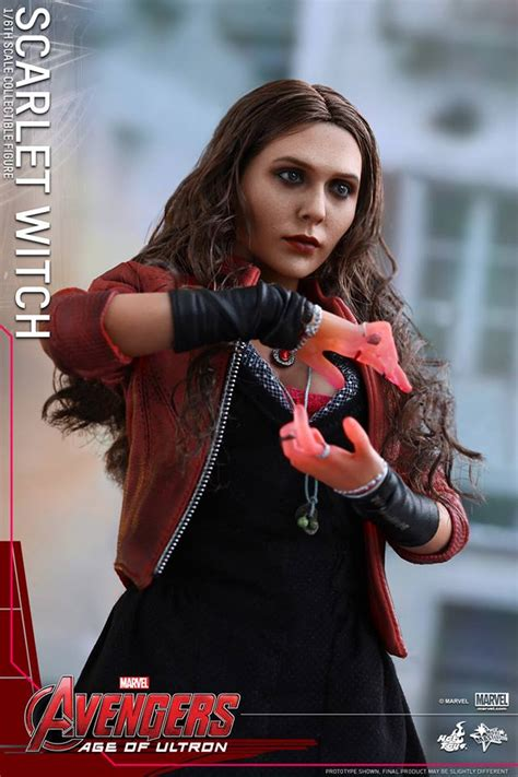 avengers age  ultron scarlet witch  hot toys