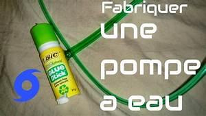 Fabriquer Une Fontaine Sans Pompe : fabriquer une pompe a eau premier mod le youtube ~ Melissatoandfro.com Idées de Décoration