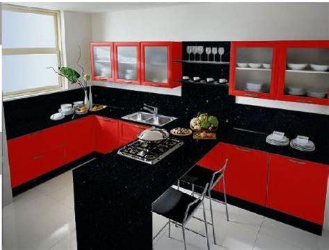 cocinas diseno de cocinas en color rojo casa