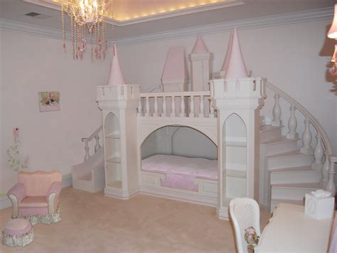 pretty bunk beds for the style of princess room ideas for design