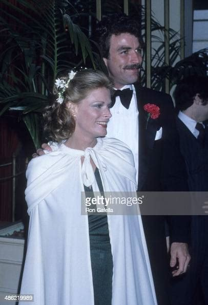 actor tom selleck  wife jacqueline ray attend