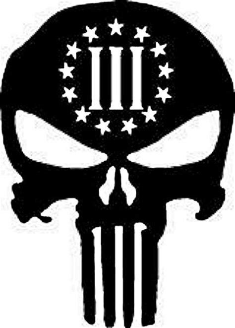 Kaos Punisher 5 punisher three percenter molon labe iii 3 percent