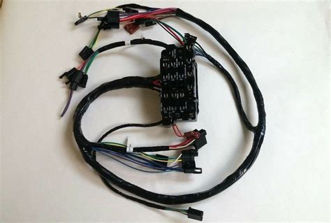 1968 Chevy Truck Wiring Harnes by 1967 1968 Chevy Up Truck Dash Wiring Harness