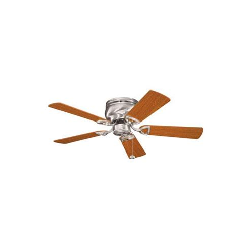 42 inch ceiling fan with light kichler stratmoor brushed stainless steel 42 inch ceiling