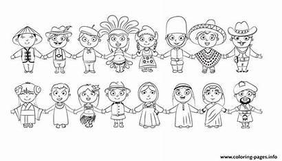 Coloring Diverse Kid