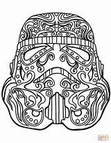 Coloring Wars Stormtrooper Skull Sugar Skulls Printable Trooper Storm Adult Mandala Adults Supercoloring Clipart Drawing Games Paper Pop Visit Animal sketch template