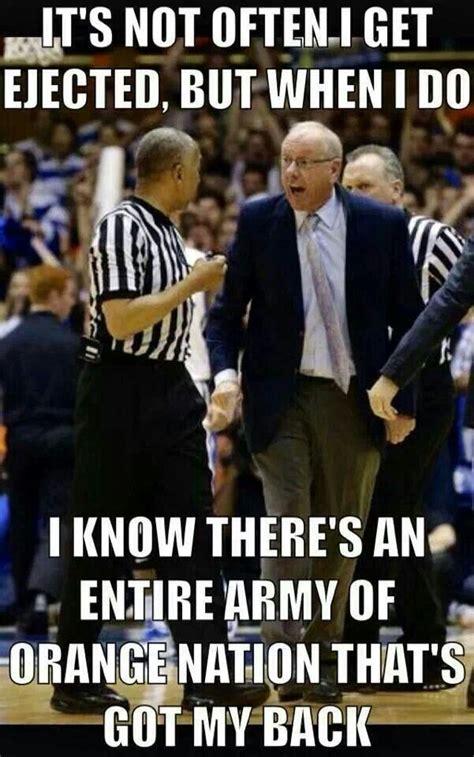 Syracuse Meme - syracuse university basketball head coach jim boeheim speaks syracuse orange nation