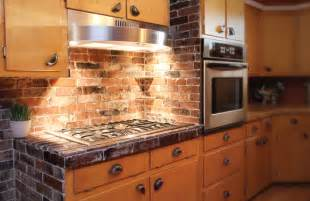 Kitchen With Brick Backsplash Brick Backsplash Kitchen Quotes