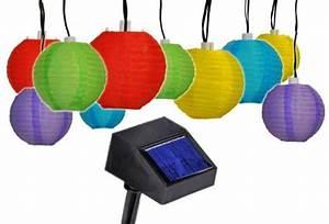 Solar Lichterkette Lampions : solar lichterkette led partylichterkette mit 10 bunten lampions f r aussen ebay ~ Whattoseeinmadrid.com Haus und Dekorationen