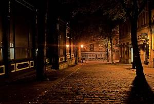Free, Images, Silhouette, Road, Night, Sunlight, Morning, Town, Alley, Cityscape, Dark, Dusk