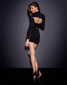 Agent Provocateur Deutschland : lyst agent provocateur maxene dress black in black ~ Cokemachineaccidents.com Haus und Dekorationen