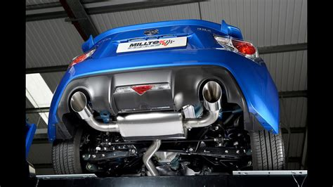 gt brz fr  aftermarket exhausts ep  youtube