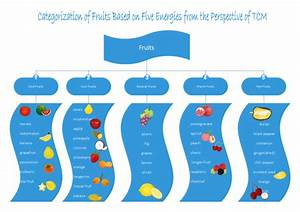 Fruits Types Tree Diagram