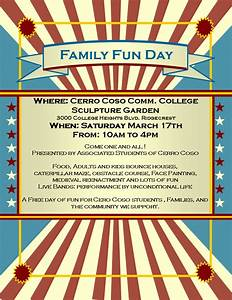 fun day flyer template google search fun day at lwcc With fun day poster template