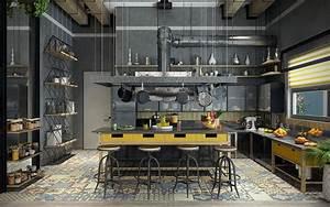 Cucine in Stile Industriale: 25 Modelli di Design a cui