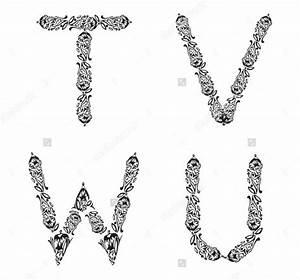 9 letter fonts free sle exle format