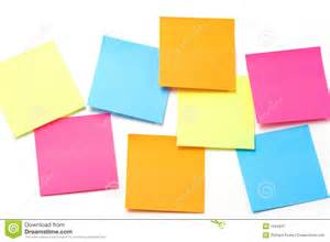 Colorful Sticky Notes