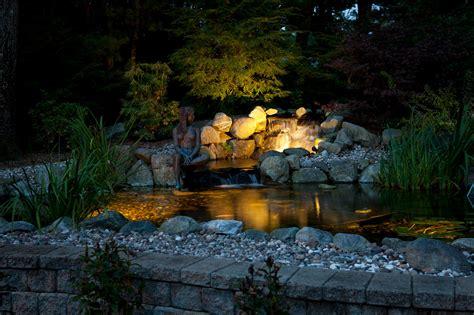 Water Feature Lighting | Illumascape Lighting | Western MA