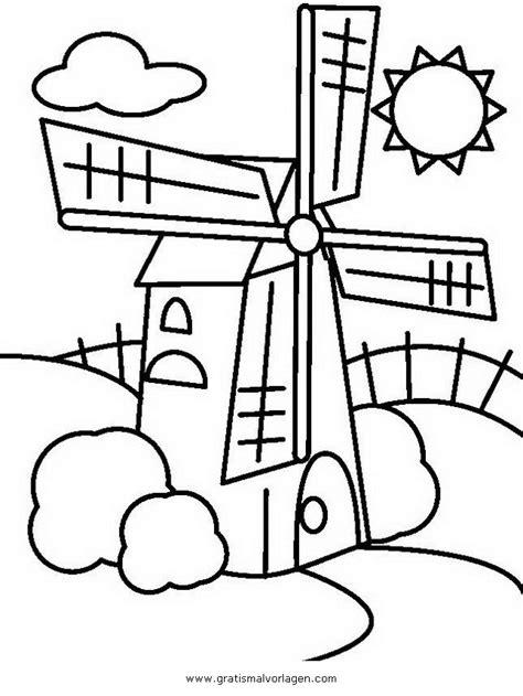 windmuehle  gratis malvorlage  diverse malvorlagen