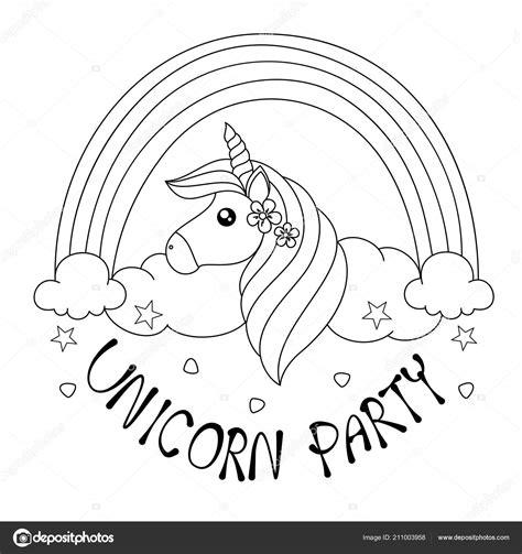 Unicorn Cupcake Kleurplaat by раскраски страницы книги единорог партии взрослых