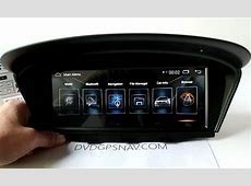 Aftermarket BMW E60 Android Head Unit GPS Navigation BMW