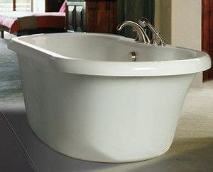 freestanding bathtubs  deck mounted faucets