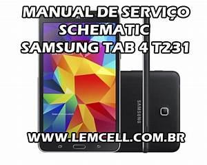 Esquema El U00e9trico Smartphone Celular Samsung Galaxy Tab 4