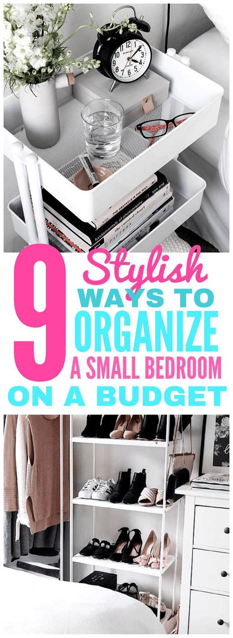 How To Organize A Bedroom On A Budget best 25 small desk bedroom ideas on desk