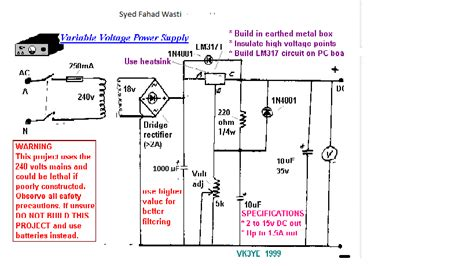 lm317 voltage regulator circuit drops vout on load electrical engineering stack exchange