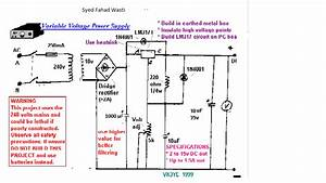 Lm317 Voltage Regulator Circuit Drops Vout On Load