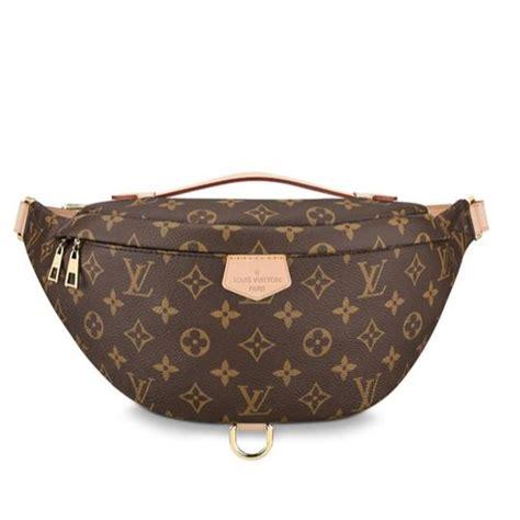 louis vuitton bumbag waist monogram brown coated canvas shoulder bag tradesy