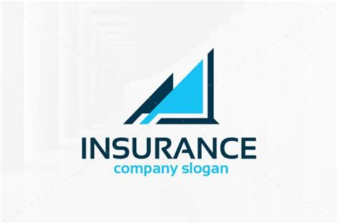 Insurance logos play a vital role as they are the business face of insurance companies, creating brand loyalty and new potential clientele. Insurance Logo Template | Logo templates, Bad logos, Business card logo