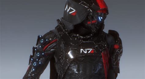 Mass Effect's N7 Armor Is In Anthem And It Looks Awesome